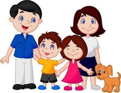 fotos de familias animadas