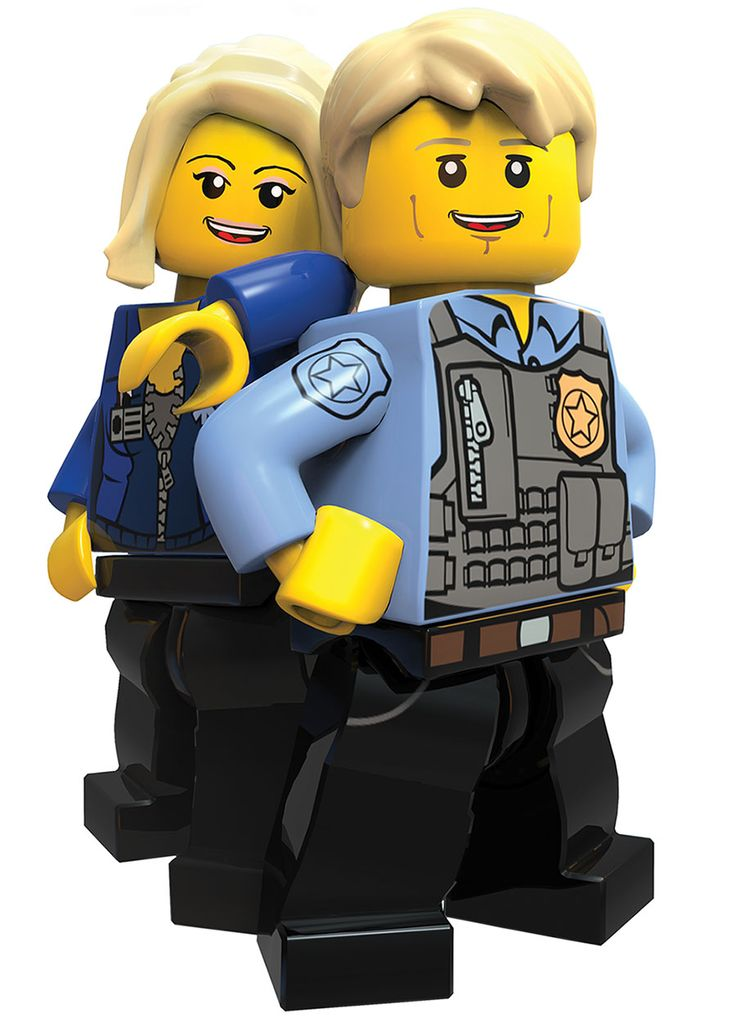 Lego // Undercover lego cleavage Chase,  Natalia City &