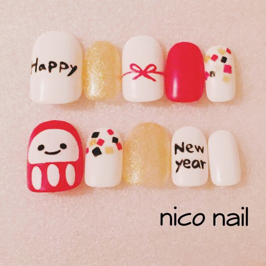 New year nail and pedi
