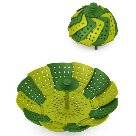 Steam in style. Joseph Joseph Lotus - Non-Scratch, Folding Steamer Basket