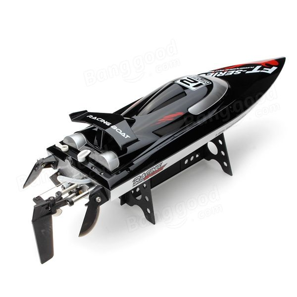 FT012 Upgraded FT009 2.4G Brushless RC Racing Boat Sale - Banggood.com