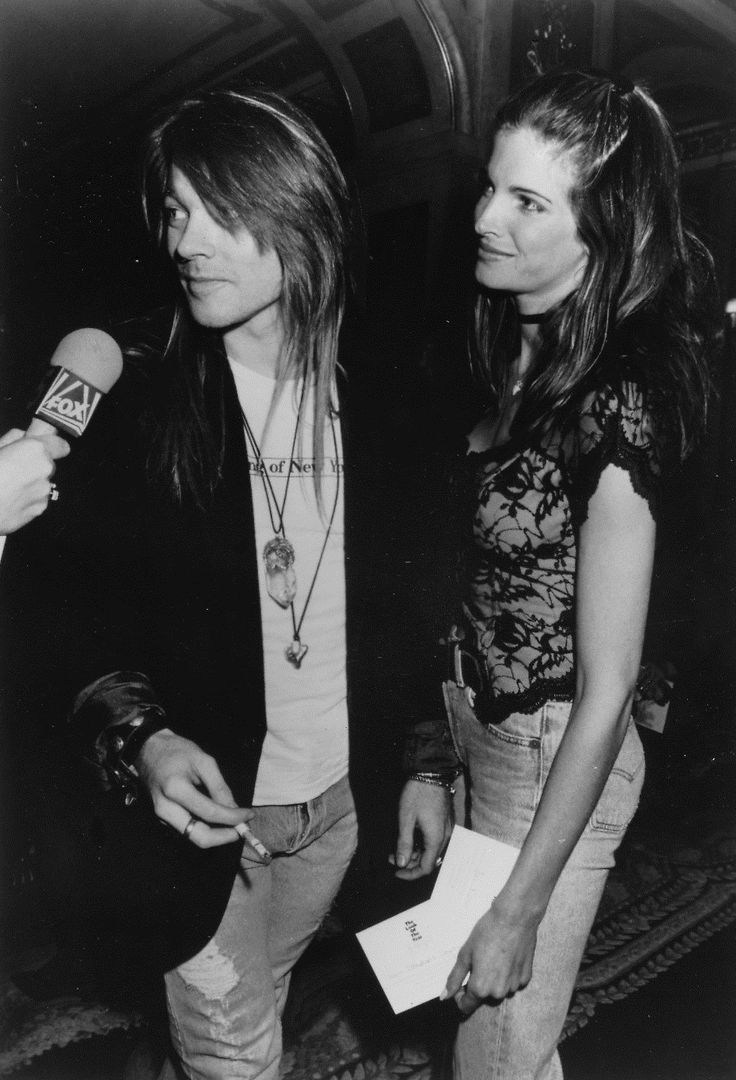 Axl Rose & Stephanie Seymour