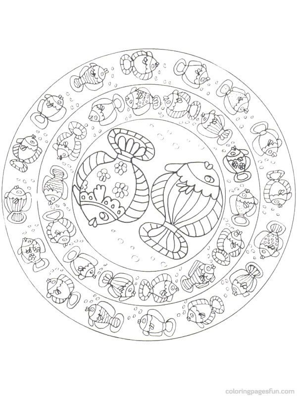 Fish Coloring Pages 9