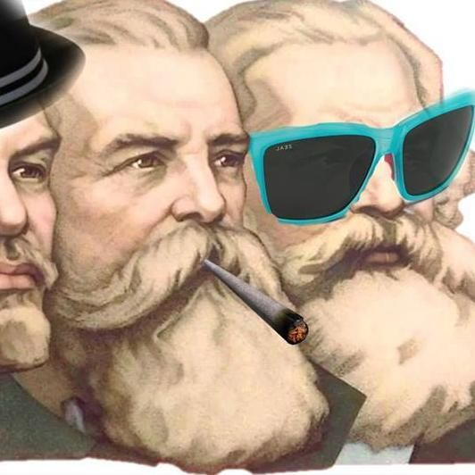 On social media, youths are seizing the memes of production to prove that continental philosophy isn't just an academic abstraction.