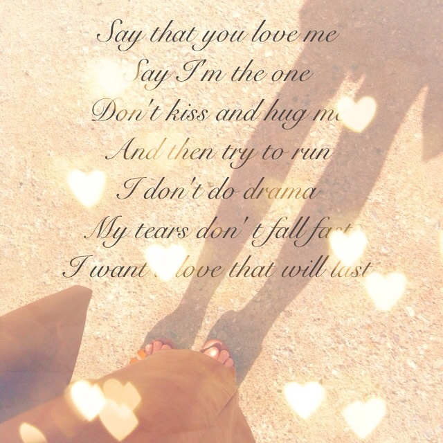 Lyrics A Love That Will Last