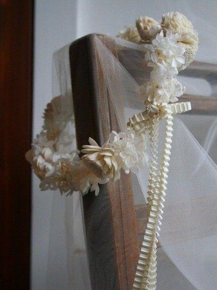 白いお花の花冠 - Û&Tsé(ウーツェ)