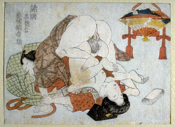 erotic japanese woodblock