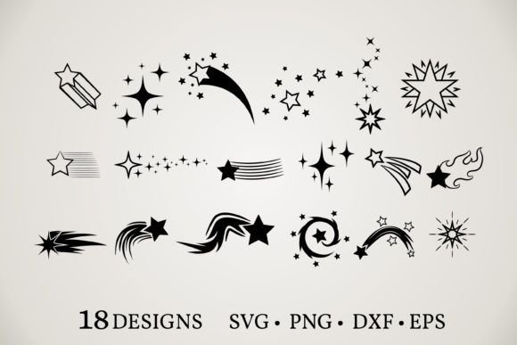 Stars Clipart Bundle Graphic By Euphoria Design Creative Fabrica In 2020 Background For Photography Star Clipart Classy Halloween