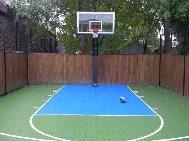 Amazing Ideas For Small Backyard Landscaping Great Affordable Backyard Ideas Basketball Court Backyard Backyard Basketball Backyard Court