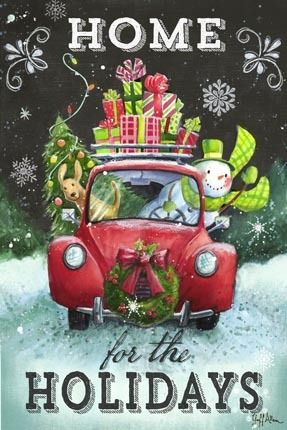 17-1380: Christmas Vehicles --  By Geoff Allen