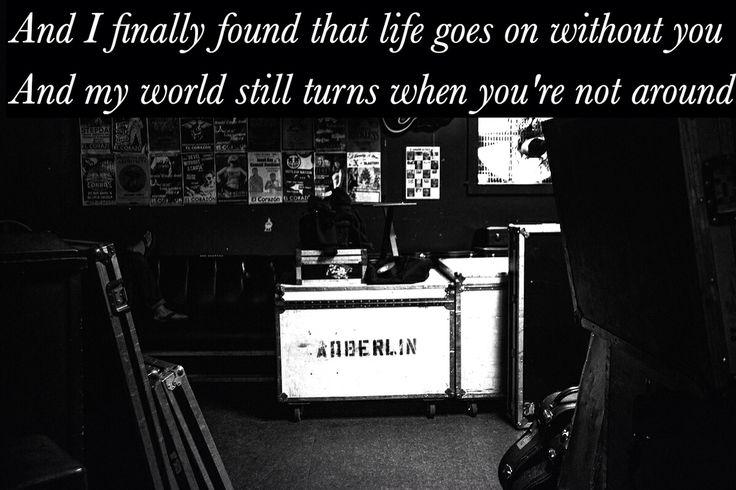 Favourite Anberlin lyrics