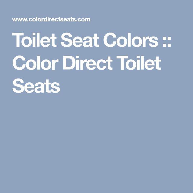 Toilet Seat Colors :: Color Direct Toilet Seats