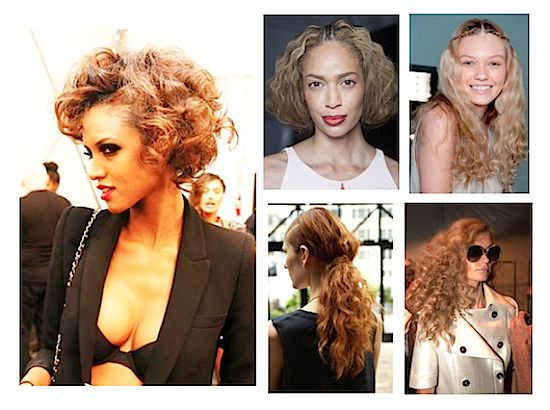 6 BEST Spring/Summer 2015 Hairstyle Trends: Curly Texture, Ponytails, Braids, Waves, Sculpted Chignon, Sleek Normcore Looks, Cuts