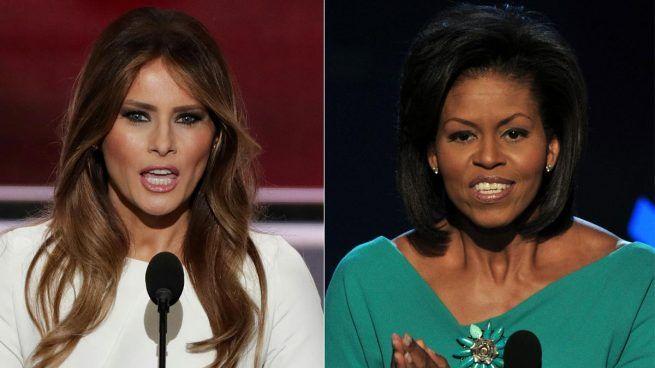 Encuentro de primeras damas entre Michelle Obama y Melania Trump en la Casa Blanca