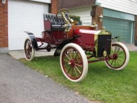 1906 Ford Model N Boat tail roadster