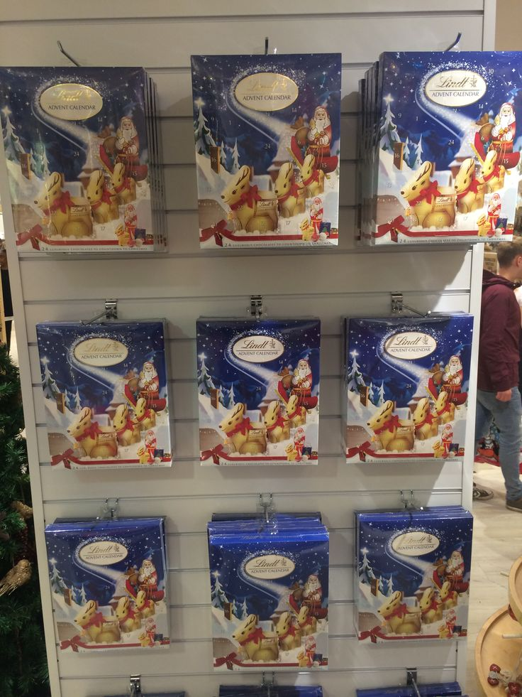 Lindt Advent Calendars #SelfridgesChristmas