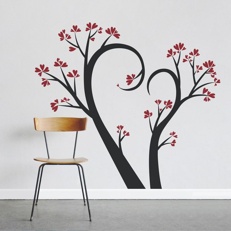 Add Some Love To Your Walls With Our Love Tree Wall Decal. Perfect For A  Nursery, Bedroom, Or Entrance Way. This Wallums Decal Requires Assembly.