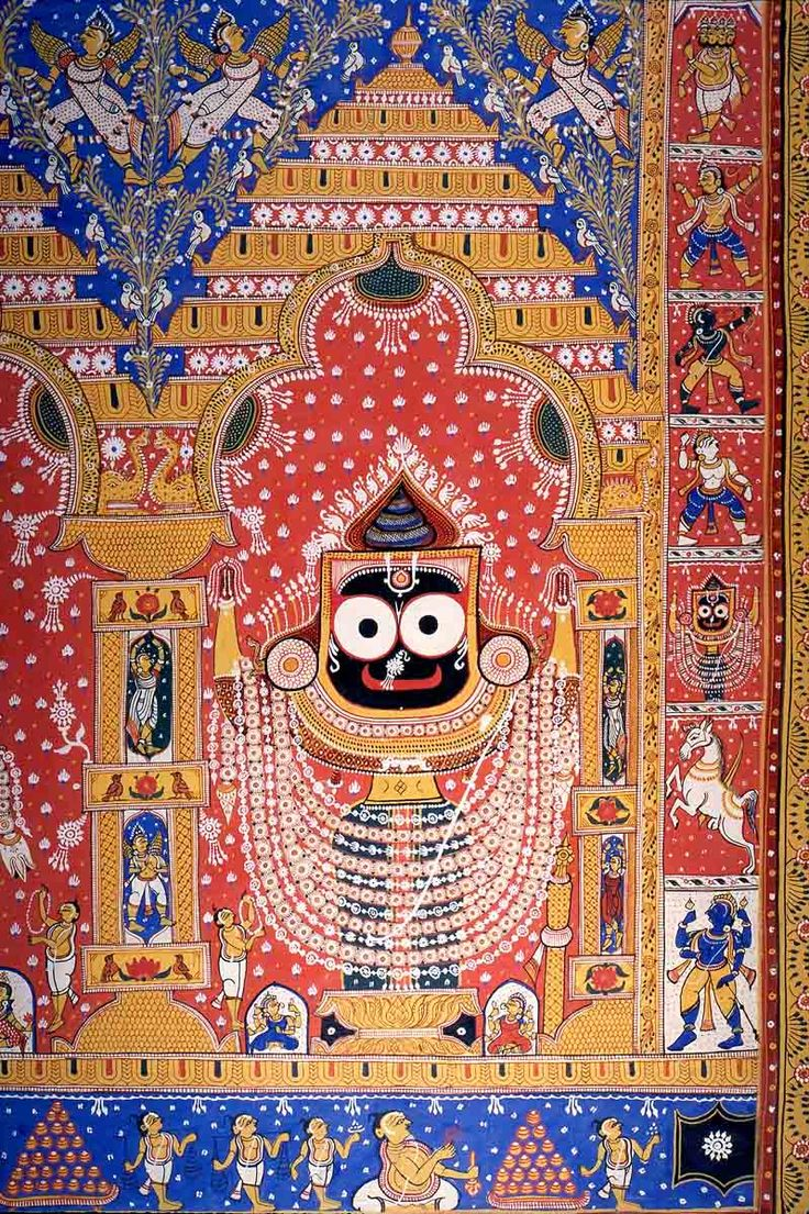 Jagannath. Present Location: Private collection Location: India Date: ca 1900-1999 CE
