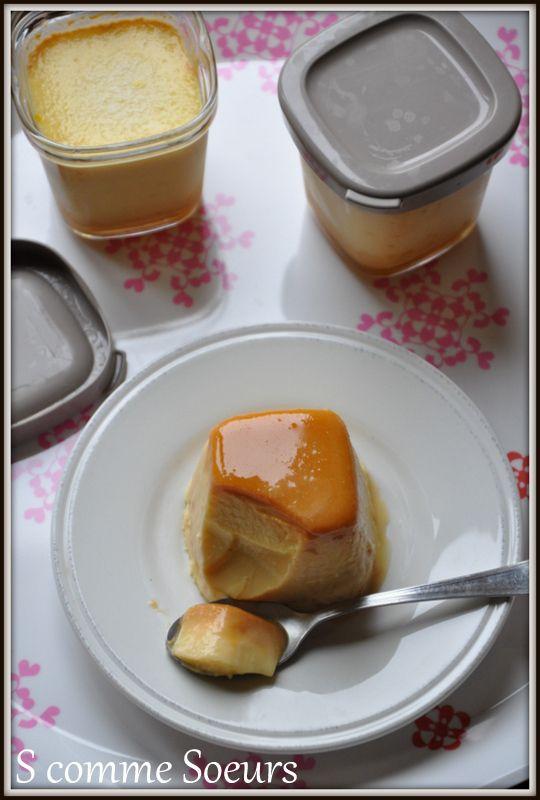 flan caramel beurre salé à la multidélice.
