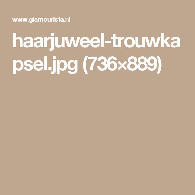 haarjuweel-trouwkapsel.jpg (736×889)