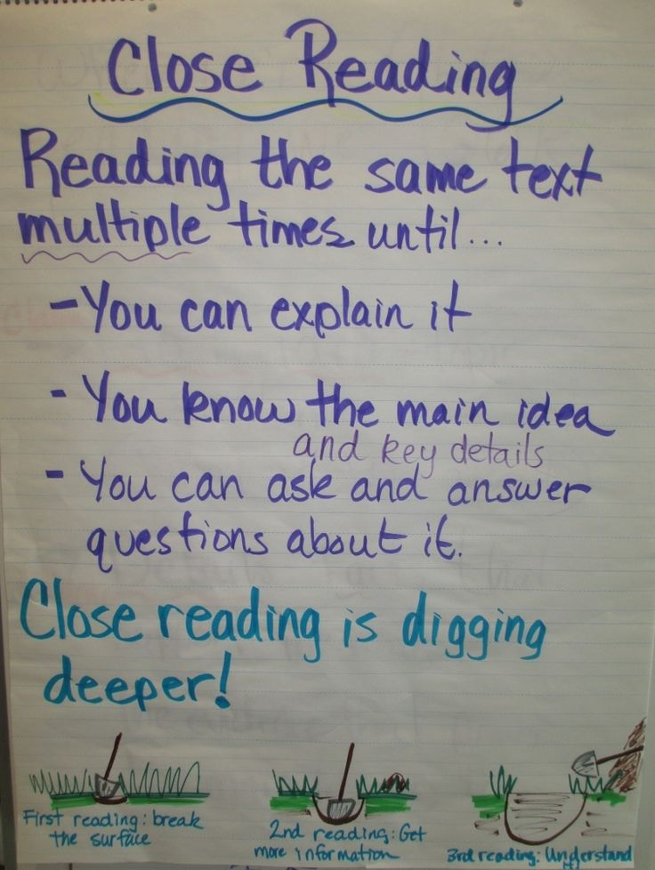 close reading anchor chart: Reading 2 Grade, Teaching Idea, Close Reading Anchors Charts, 2Nd Grade Reading, Reading Anchor Charts, Classroom Reading, Reading Classroom, Education, Dense Deeper