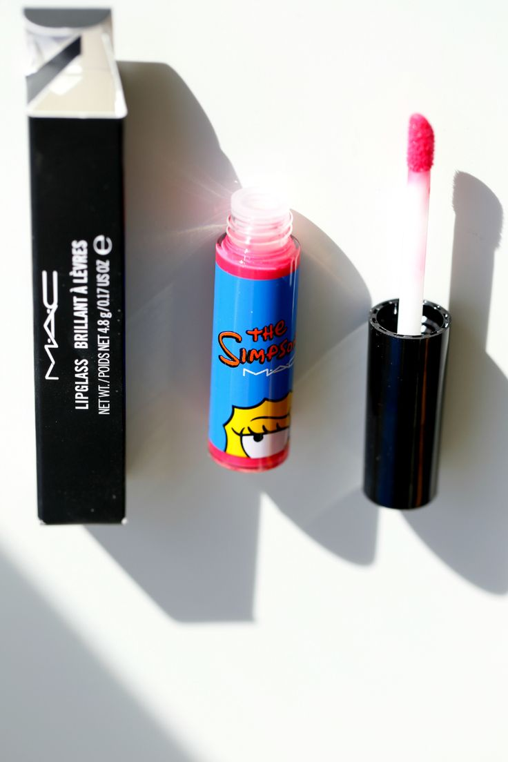 MAC x Marge The Simpsons Red Blazer lipglass