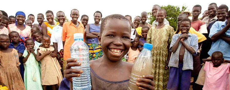 charity: water is a non-profit organization bringing clean, safe drinking water to people in developing countries.