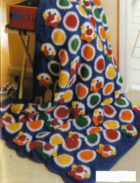 Crochet Dinosaur Afghan Pattern : 1000+ images about Crochet - Clowns ! on Pinterest Sock ...