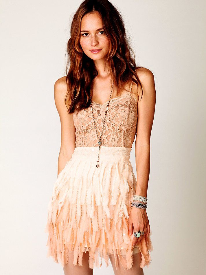 Free People Feather Slip.