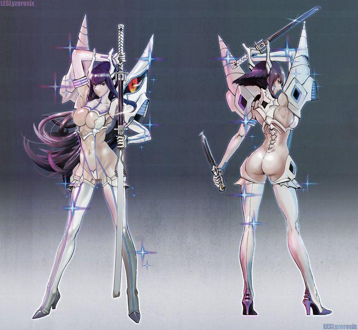 [2D]Kill la kill kiryuin satsuki junketsu by Leslyzerosix