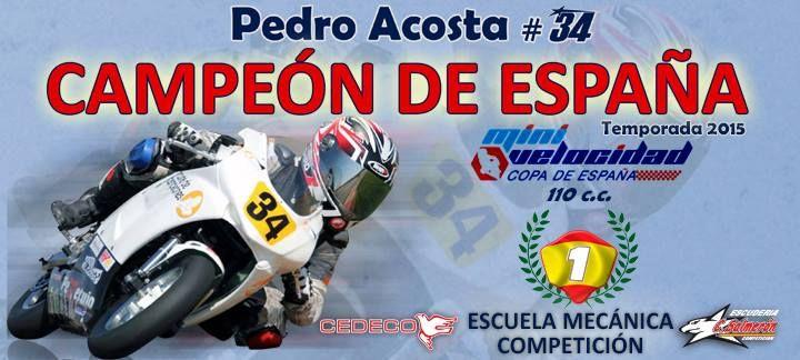 Trabajo muy bien hecho ¡Muchas felicidades campeón! #motos