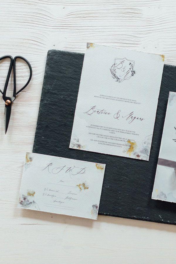 Vintage Hochzeitskarte Antwortkarte Rsvp Hochzeitseinladungen