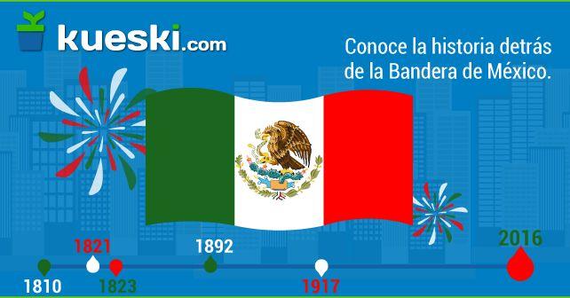 Conoce más sobre la historia de la bandera de México en su día #DíaDeLaBandera