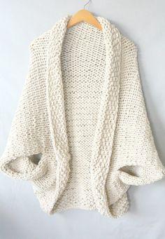Teste padrão fácil da camisola do cobertor da malha