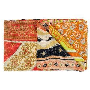 Vintage Sari Throw Bhilwara now featured on Fab.