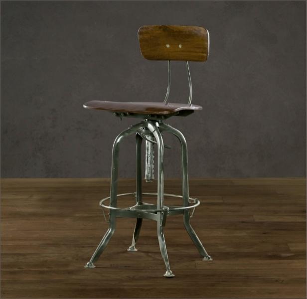 Vintage Drafting Table Chair