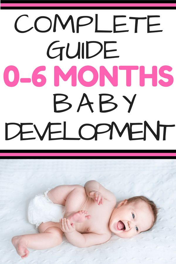 0-6 Months Complete Infant Skills Guide: Are you wondering what infant milestones look like in your baby from newborn up to 6 months? Read all about what milestones to expect and simple play ideas to encourage baby development. No lesson plans needed! Teach your child through activities within your daily routines.