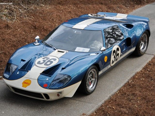 1964 Ford GT40 (10 Photos) - Classic Cars Blog