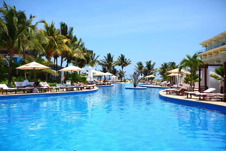 Pool area at Azul Sensatori Riviera Maya by Yana Bukharova on 500px