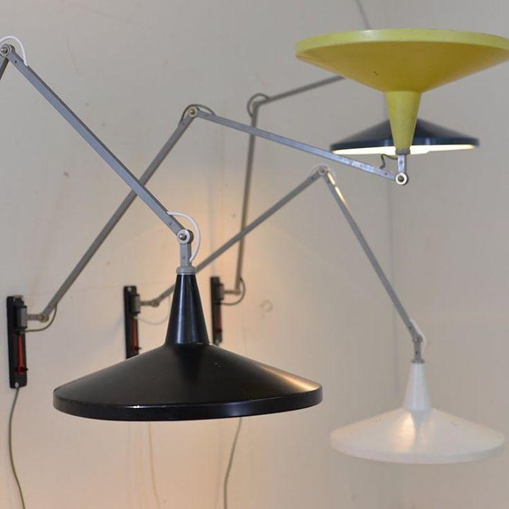 "106 Likes, 3 Comments - Buma Design (@bumadesign) on Instagram: ""#panamalamp #walllamp #dutchdesign #wimrietveld #gispen #1955 #forsale #bumamöbelklassiker"""