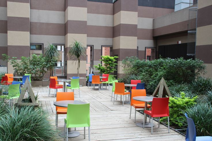 Outdoor Terrace at our CBD Campus