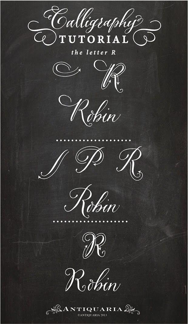 Ideas about modern calligraphy alphabet on pinterest