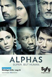Watch Alphas Online Stream Tv. Dr. Lee Rosen leads a team of Alphas, (human beings with enhanced abilities) who investigate the death of a witness in a court case. They soon uncover more than they had bargained for.