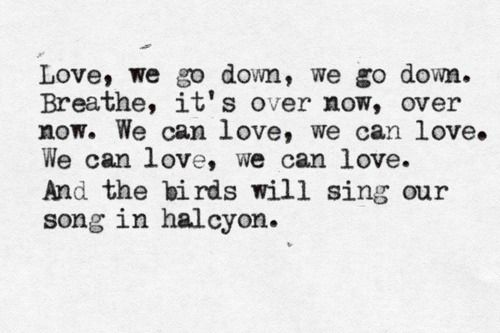 """Halcyon"" - The Paper Kites"