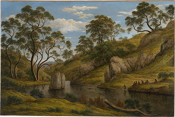 John GLOVER, The bath of Diana, Van Diemen's Land - my great great great grand father.