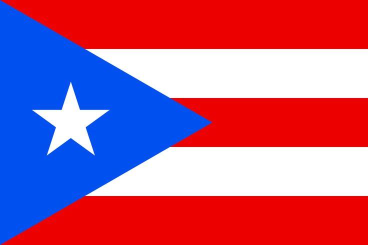Flag of Puerto Rico - Bandeiras de territórios dependentes – Wikipédia, a enciclopédia livre