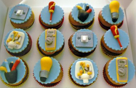 29 Best Electrician Cake Images On Pinterest Cake Ideas