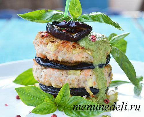 Рыбные котлеты с овощами без обжарки в масле