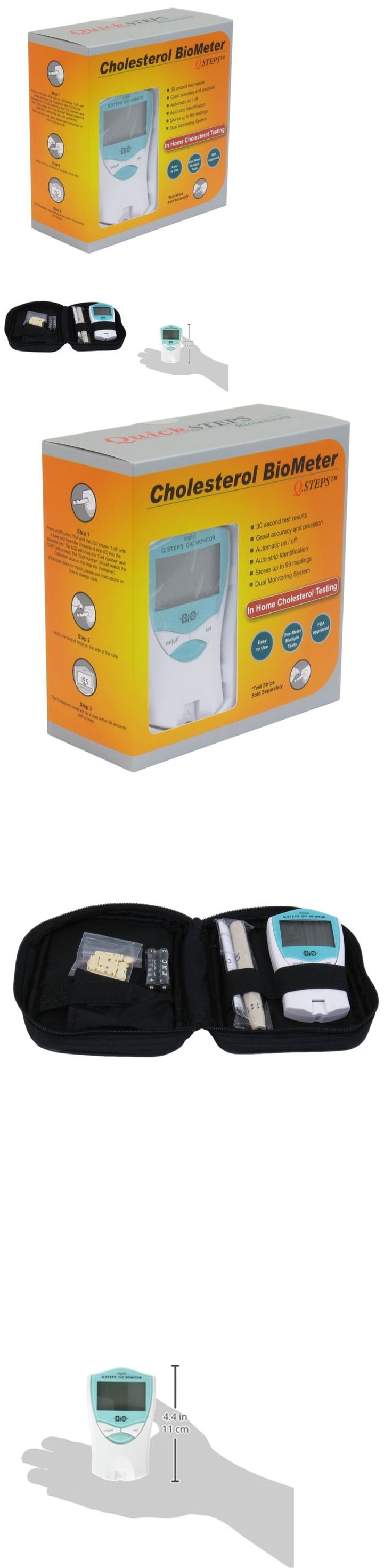 Cholesterol Testing: Cholesterol Check Glucose Blood Sugar Test Meter Biometer Monitoring System New -> BUY IT NOW ONLY: $65.47 on eBay!