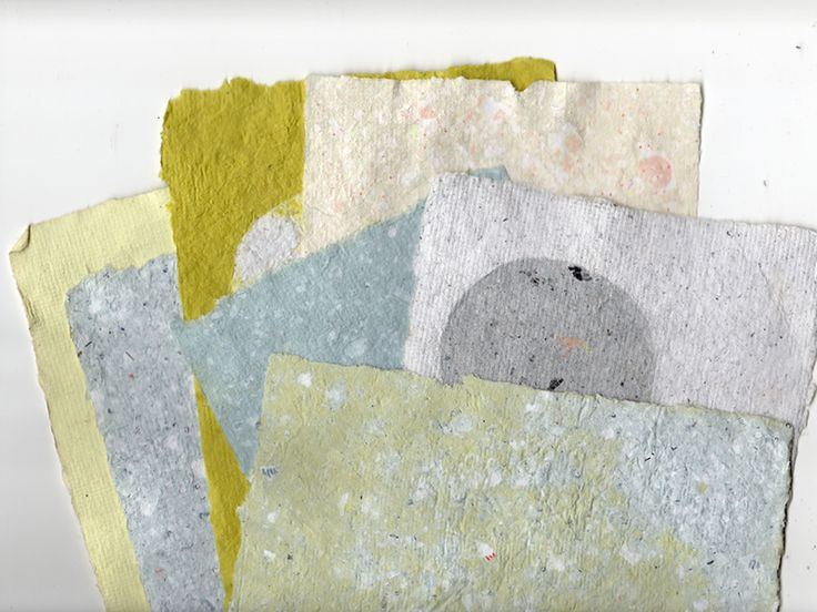 Paper making is easy! Here's a chance to give unwanted paper lying around a second life for stationery, collage, or anything else you can imagine.
